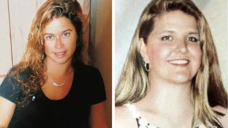 Ciara Glennon, 27, (L) and Jane Rimmer, 23, were killed in 1996 and 1997