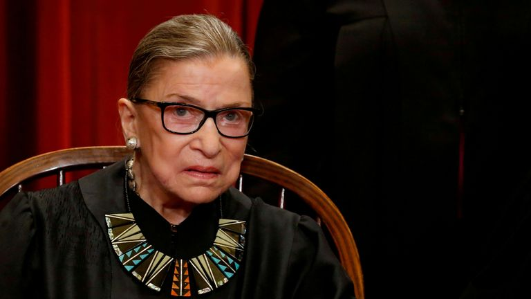 It was Justice Ginsburg's dying wish to not be replaced until a new president is in power