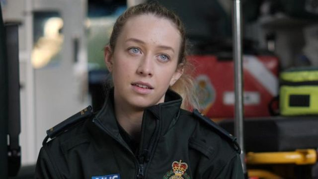 London Ambulance Service paramedic Caitlyn was spat on during a callout