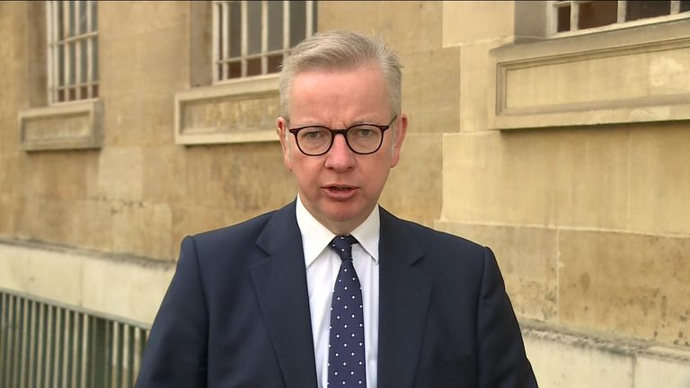 Cabinet Office Michael Gove