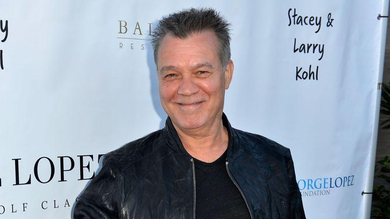 Eddie Van Halen had throat cancer