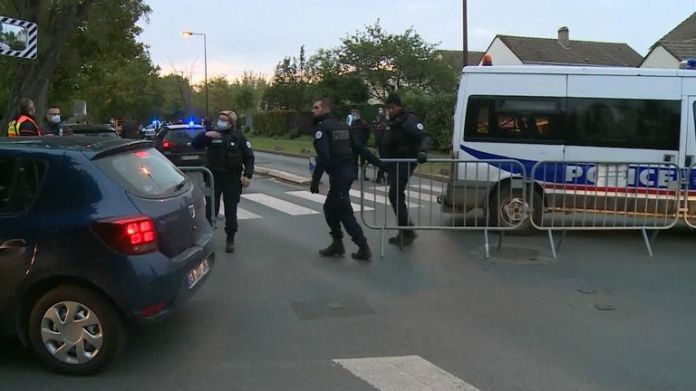 The suspect was shot dead about 600 meters from where the attack took place