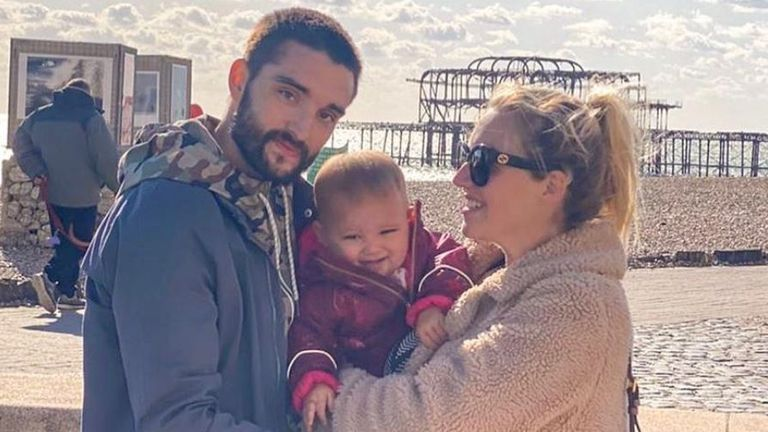 Tom Parker revealed he has a brain tumour and posted a statement on Instagram. Pic: tomparkerofficial