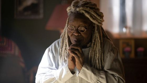 Whoopi Goldberg as Abigail's mother in the stand.  Pic: Robert Falconer / CBS