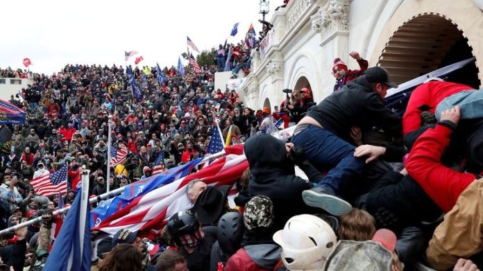 Pro-Trump protesters storm U.S. Capitol during rally