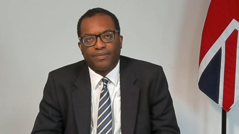 Business Secretary Kwasi Kwarteng said the fact that Nissan was going to build batteries in the UK was positive for Britain