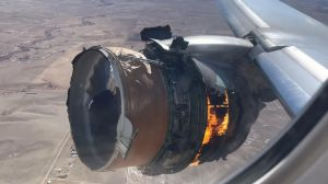 Two passengers sue United Airlines after Boeing 777 engine caught fire in the air  American news
