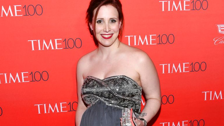 Dylan Farrow claims she was molested by Allen when she was seven. Pic: AP