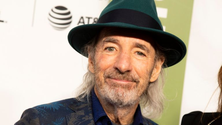 "Harry Shearer attends the 35th anniversary screening for ""This is Spinal Tap"" during the 2019 Tribeca Film Festival. Pic: AP"