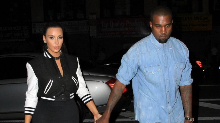 Kim and Kanye, pictured here in 2012, had been good friends for several years. Pic: XPX/STAR MAX/IPx via AP