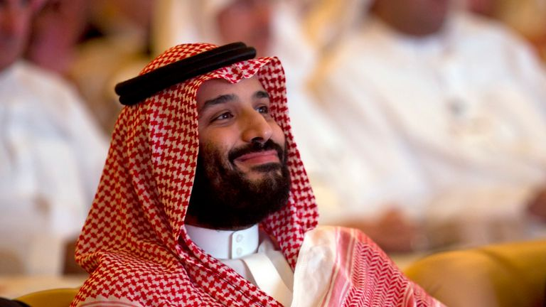 Mohammed bin Salman had previously enjoyed a cosy relationship with Donald Trump