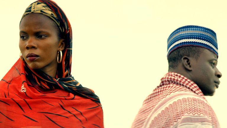 Nigerian film The Milkmaid, directed by Desmond Ovbiagele. Pic: Danono Media