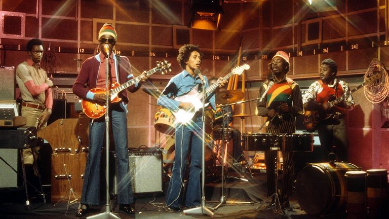 Bob Marley and the Wailers on The Old Grey Whistle Test in 1973