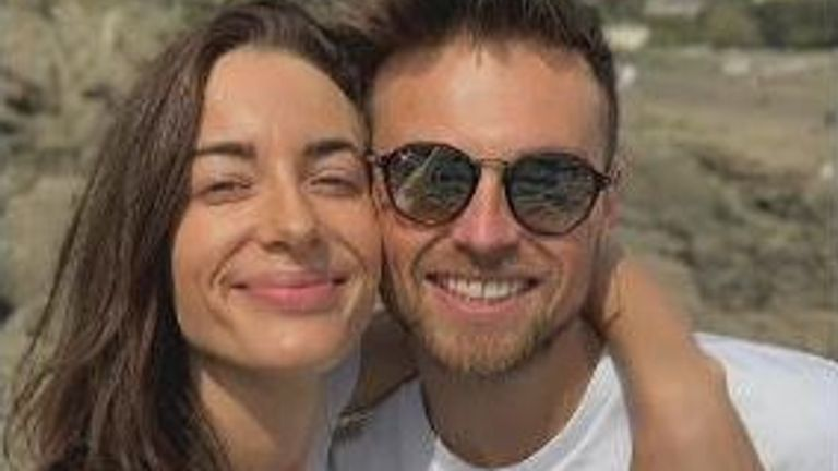 Emily Hartridge, who died in an accident on an e-scooter, was pictured with her boyfriend Jake Hazell