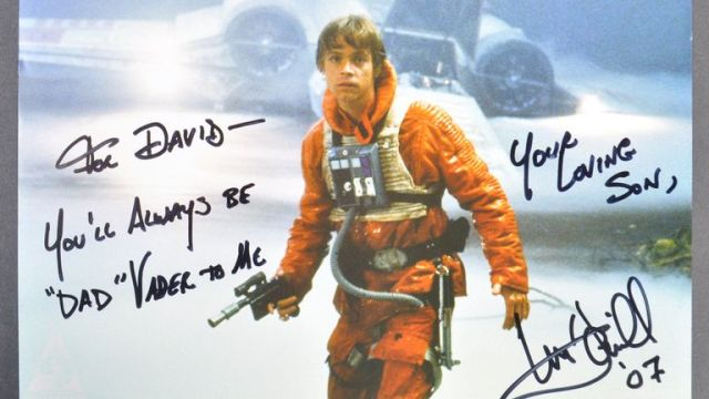 Dave Prowse auction