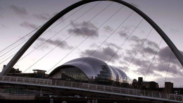 The Sage Gateshead. File pic