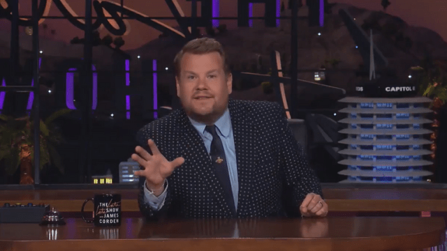 """James Corden described the plans as """"disgusting"""" and said its the """"end of the game we love"""". Pic Twitter/James Corden"""