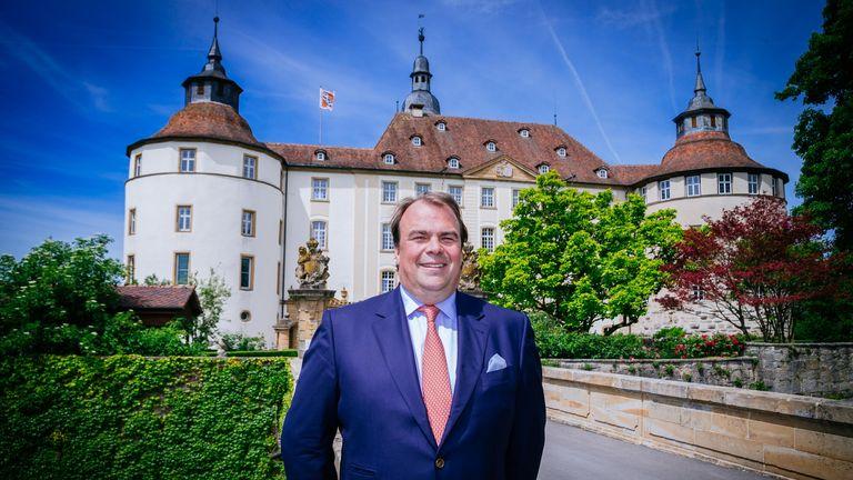 Philipp Prince Hohenlohe- Langenburg. Pic: Niedermuller Thomas/Action Press/Shutterstock
