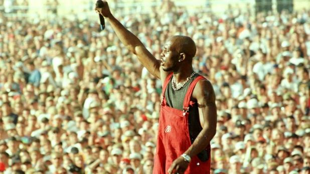 Earl Simmons, better known as rap musician DMX, performs on the main stage at the Woodstock music and arts festival in Rome on July 23.  The 30th anniversary festival is held at the former Griffiss Air Force base and the organizers are waiting for around 300,000 people.  people will participate.  JT / HB / AA