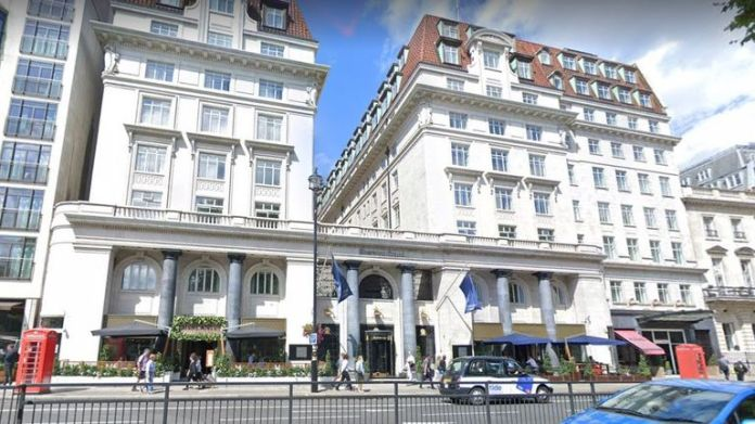 Sheraton Grand hotel in London. Pic: Google Street View
