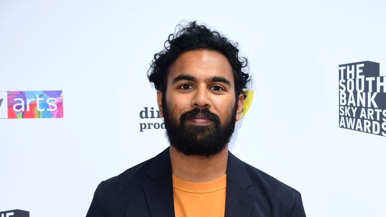 Himesh Patel attending the South Bank Sky Arts Awards at the Savoy Hotel in London.