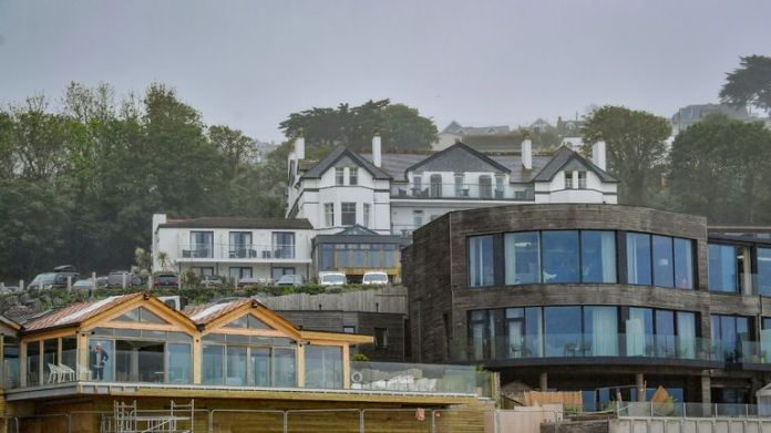 The Carbis Bay hotel ahead of the G7 summit in the Cornish village. Picture date: Saturday June 5, 2021.