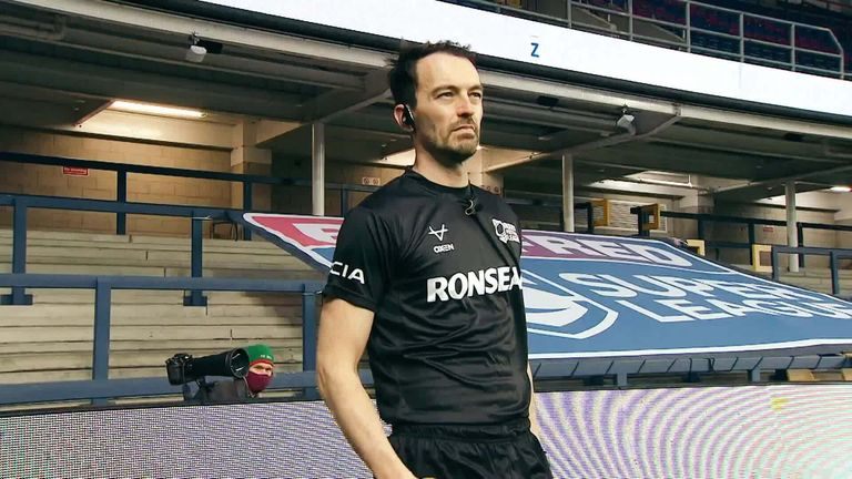 Referee James Child on Super League's support for Rainbow Laces