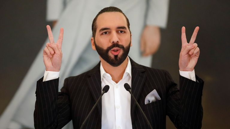 President Nayib Bukele said the move would create more jobs and create financial inclusion