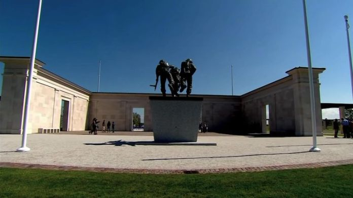 New D-Day memorial unveiled in Normandy