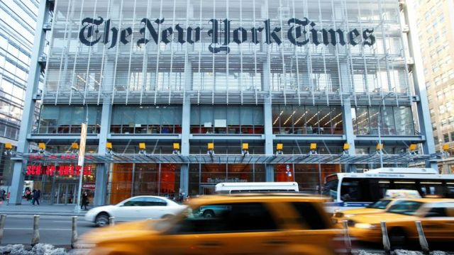 The Trump administration obtained records from The New York Times