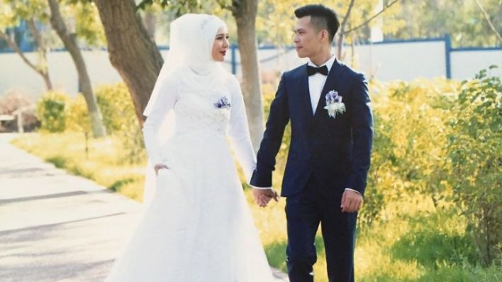 Australian-born Mehray Mezensof has been married to Mirzat Taher for almost five years.