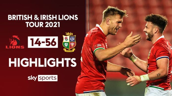 Highlights from the opening match of the British and Irish Lions' tour of South Africa as they faced Sigma Lions at Ellis Park