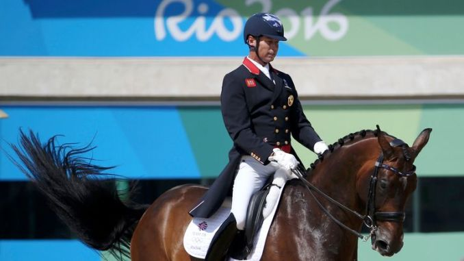 Carl Hester is the oldest member of Team GB