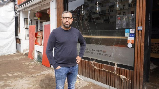 Nameer Laghzaoui's pizzeria, Pizza Grano, has no power or water