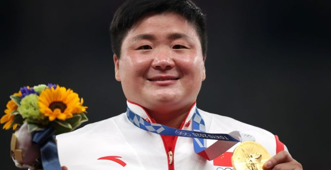Tokyo Olympics: Backlash after China's champion shot putter Gong Lijiao asked about her 'masculine' appearance and marriage plans in interview | World News