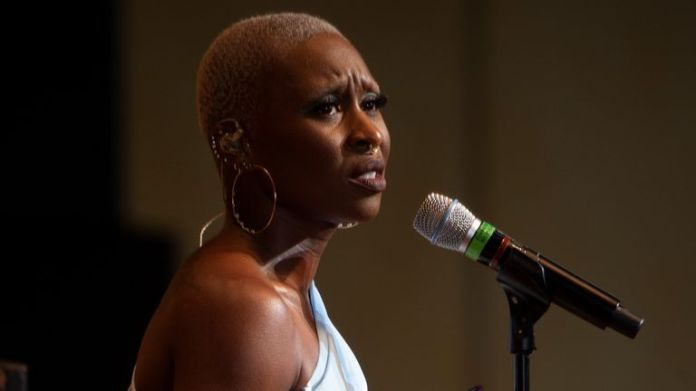 Cynthia Erivo performing at the Ravinia Festival in Chicago in July 2021. Pic: Patrick Gipson