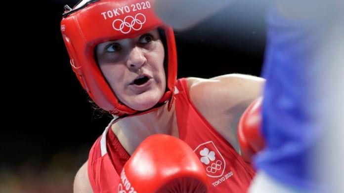 Ireland's Kellie Anne Harrington in action in Tokyo