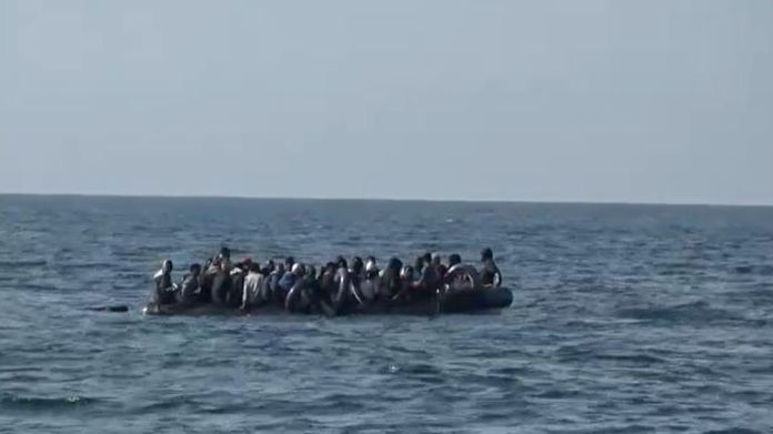 Migrants sometimes pay people smugglers to help them reach the UK