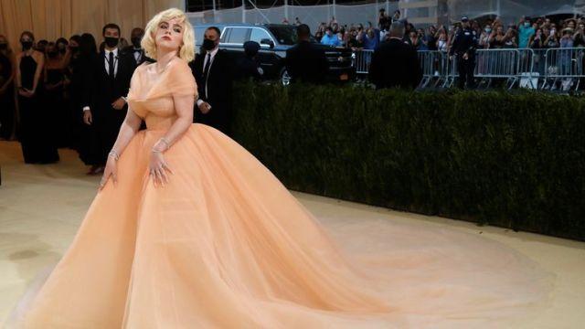 Metropolitan Museum of Art Costume Institute Gala - Met Gala - In America: A Lexicon of Fashion - Arrivals - New York City, U.S. - September 13, 2021. Billie Eilish. REUTERS/Mario Anzuoni