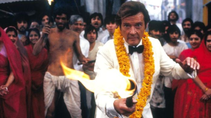 .Roger Moore. Octopussy - 1983.