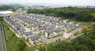 The Sakai City development in Japan.