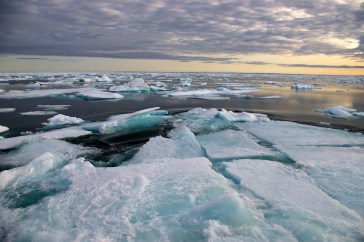 ice chunks, Sept.1