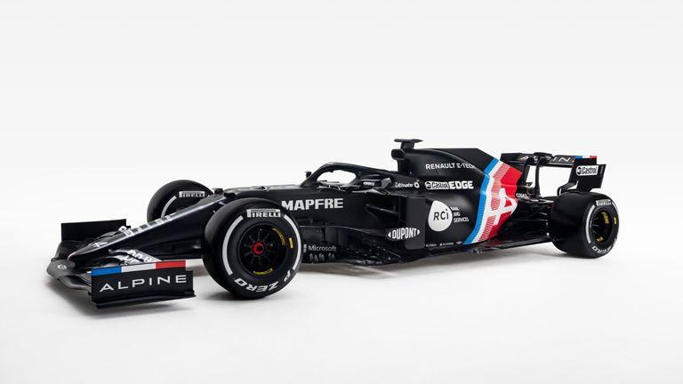 erstes auto der saison 2021 vorgestellt