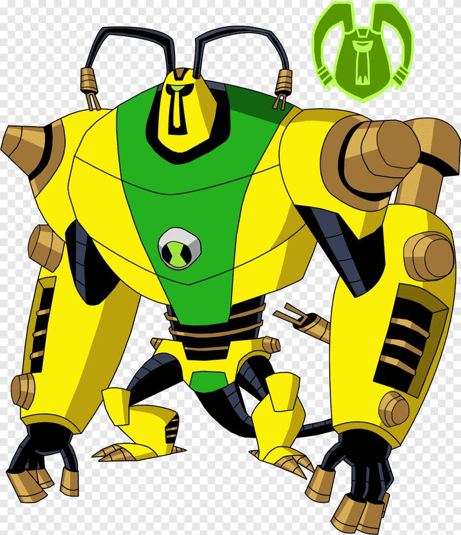 Ben 10 Omniverse Alien Cartoon Alien Superhero Karakter Fiksi Png Pngegg