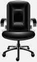 Black Rolling Chair Office Chair Table Office Chair Angle Furniture Png Pngegg