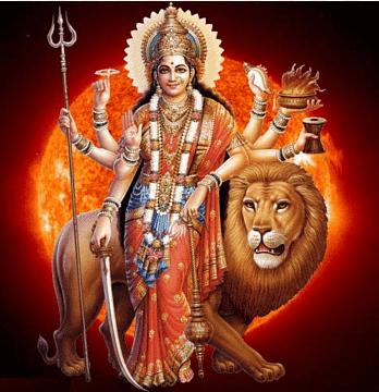 Krishna illustration, Shiva Parvati Kali Durga Puja, Durga Maa, prayer,  divinity png | PNGEgg