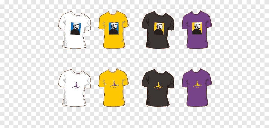 Purple Los Angeles Lakers T Shirt . T Shirt Los Angeles Lakers T Shirts Purple Tshirt Png Pngegg