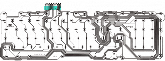 keyboard wiring diagram  wiring harness connectors for