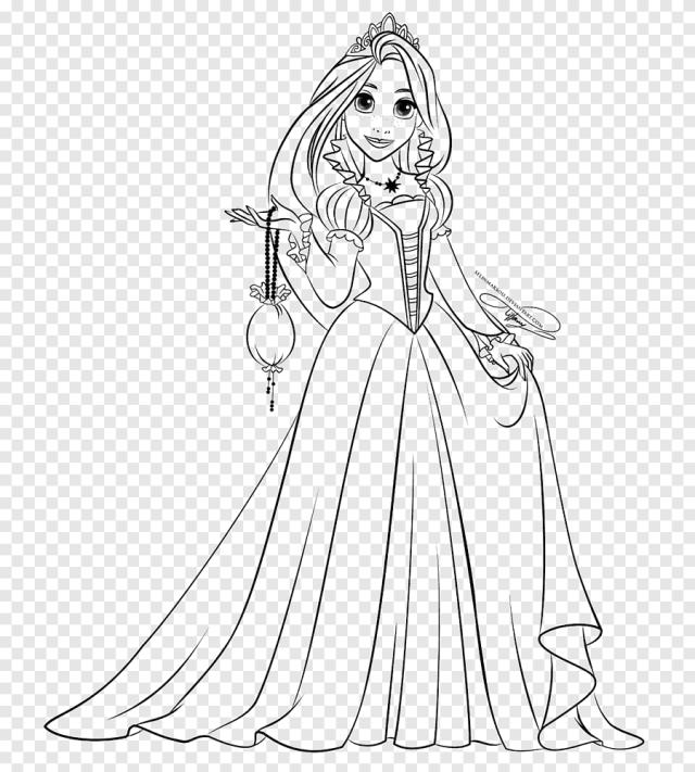 Raiponce princesse Aurora Disney Princess dessin livre de