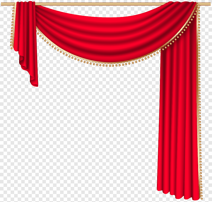 curtain rod window theater drapes and